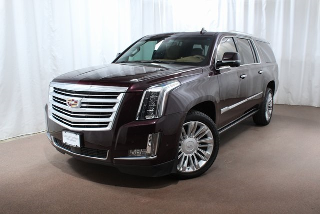 Certified Pre Owned 2017 Cadillac Escalade Esv Platinum Edition