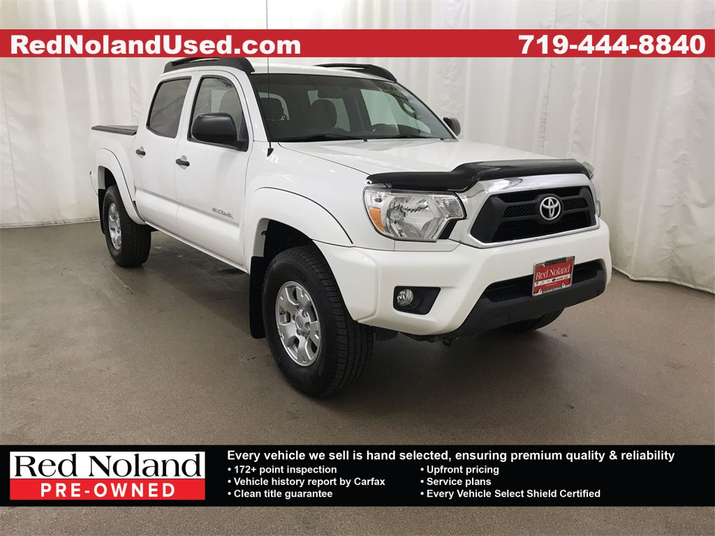 Colorado Springs Toyota >> Pre Owned 2015 Toyota Tacoma Sr5 4wd