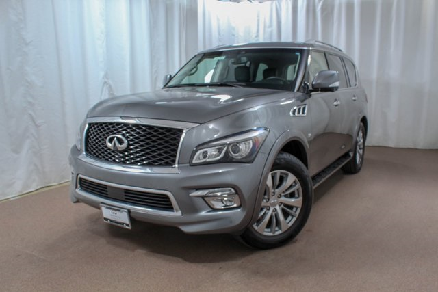 Certified Pre-Owned 2017 INFINITI QX80 4WD with Driver Assist