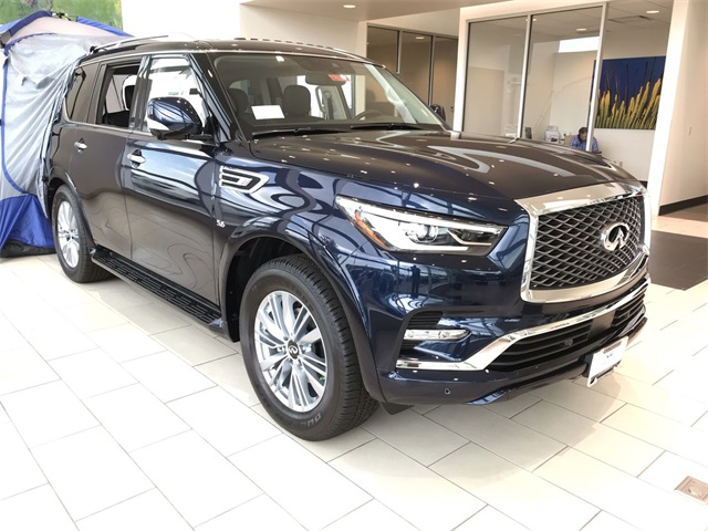 New 2019 INFINITI QX80 LUXE- ALL SEASON PKG