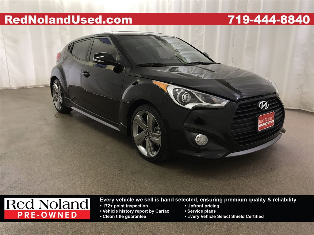 Pre Owned 2015 Hyundai Veloster Turbo Fwd 3d Hatchback