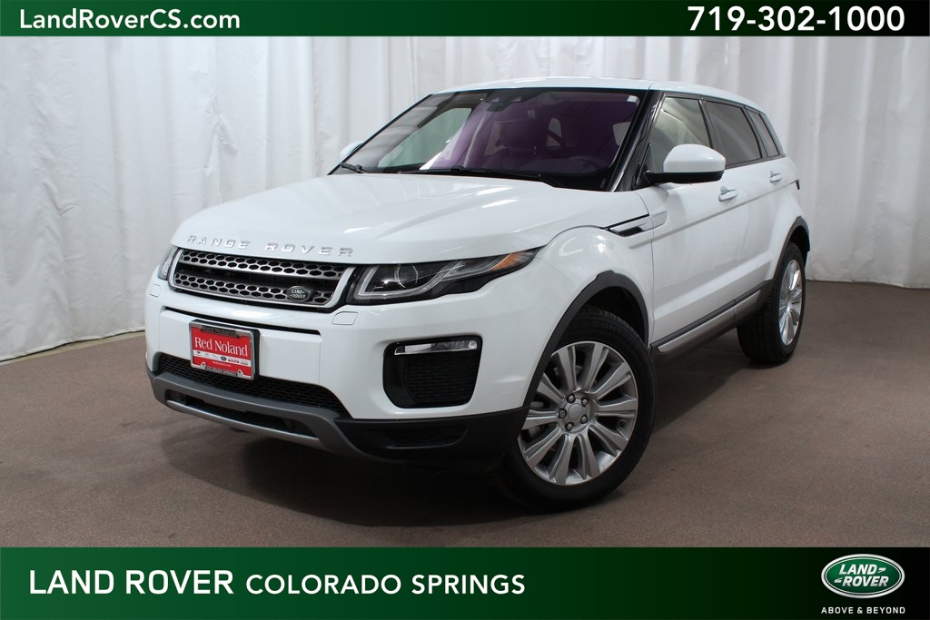 New 2018 Land Rover Range Evoque Hse