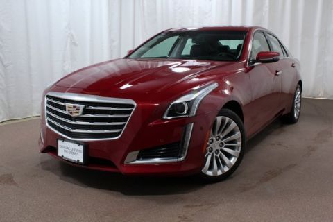 Certified Pre-Owned 2018 Cadillac CTS 3.6L Premium