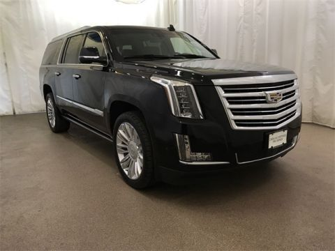 Certified Pre-Owned 2017 Cadillac Escalade ESV Platinum Edition