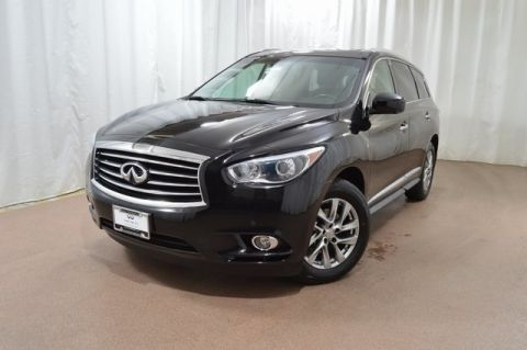 Certified Pre-Owned 2015 INFINITI QX60 AWD w/ Prm Pkg and NAV