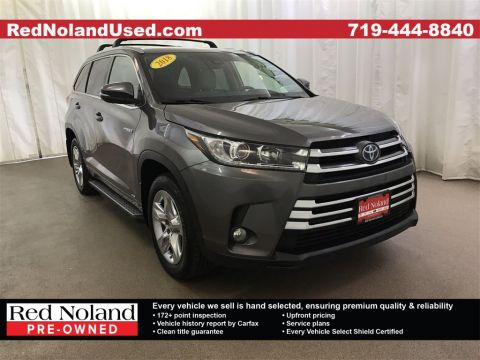 Pre-Owned 2018 Toyota Highlander Hybrid Limited