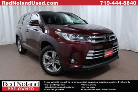 Pre-Owned 2018 Toyota Highlander Limited AWD