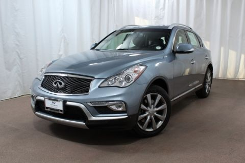 Pre-Owned 2016 INFINITI QX50 AWD with Prm Plus and NAV