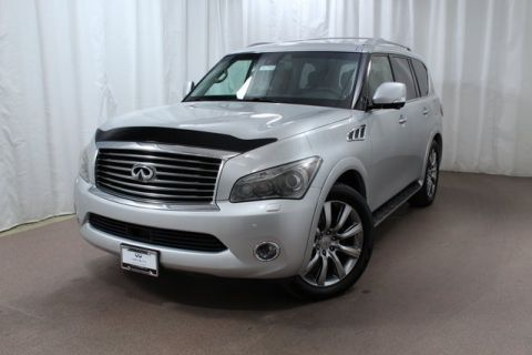 Pre-Owned 2011 INFINITI QX56 4WD w/ Deluxe Tech Pkg