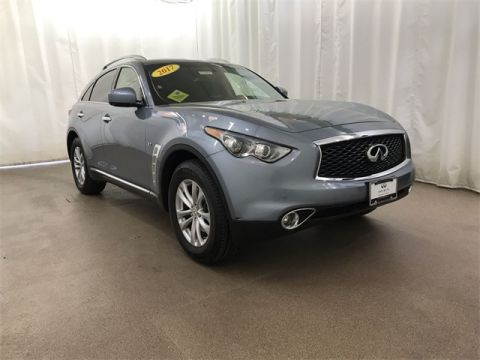 Certified Pre-Owned 2017 INFINITI QX70 AWD w/ NAV and Bose